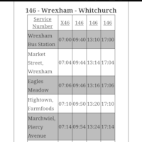 YJ13HHX - Service 146 Wrexham-Whitchurch